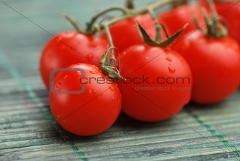 Tomatoes close up