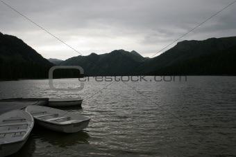 Three boats stay at berth