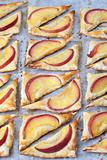 Puff pastry with nectarines