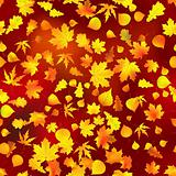 Seamless autumnal background