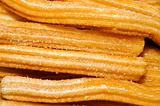 churros , typical Spanish sweet