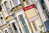 Property &quot;For Sale&quot;, London.