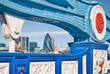 City of London and Tower Bridge