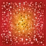abstract christmas red stars background