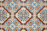 Old tiles background