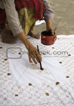 Batik process