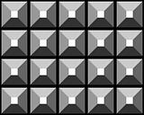 Seamless grey relief pattern.