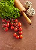 tomato parsley food vegetable vegetarian cooking