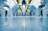 Underground London.