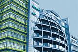 Modern office building in London.