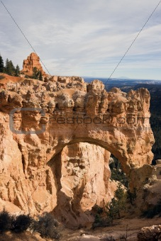 Arch in Bryce Canyon National Park