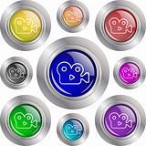 Button camera-Icon set