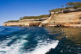 Cliffs in Pictured Rocks National Lakeshore