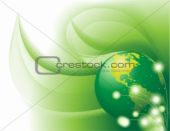 Green Concept Abstract