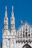 Milan Cathedral Facade Detail