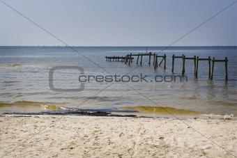 Oil on the Beach, Gulf Coast