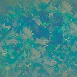Water blue flower background