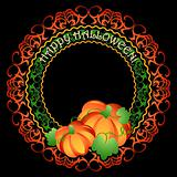 Pumpkins medallion