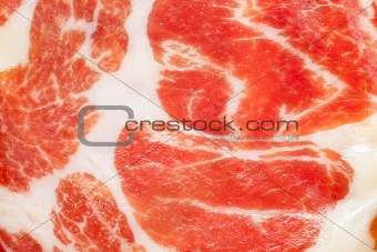 dried ham background