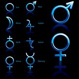 Symbol, planet