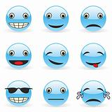 vector illustration emoticons
