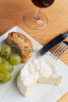 camembert cheese and raisins