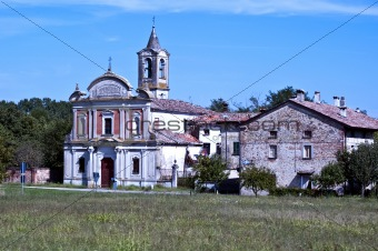 Church in the village