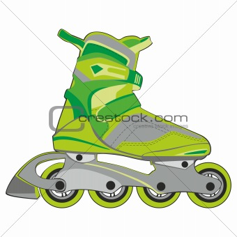 isolated roller skates