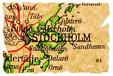 Stockholm, Sweden old map