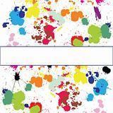 Set of ink spots