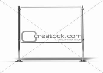 blank billboard for message