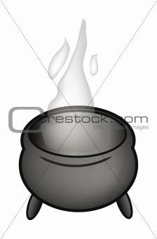 cartoon pot