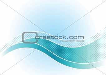 Background with wave.