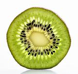 Macro Kiwi fruit