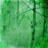 Grunge green luminous cracked abstract textured background