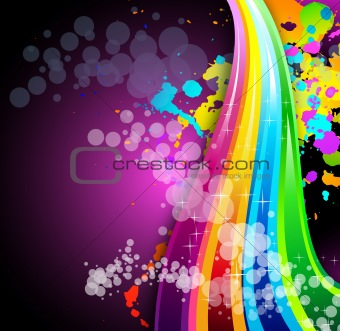 Abstract Colrful Business Background for Brochure