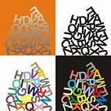 Alphabet - large letters