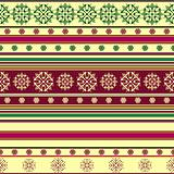 Seamless striped vintage pattern