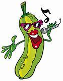 Singing cucumber