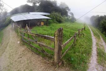 Costa Rican dairy farm