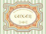 Vintage label 3