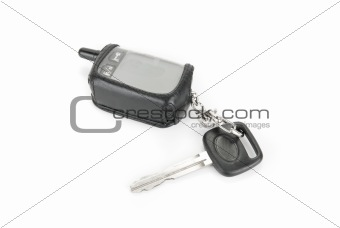 Car key and security system