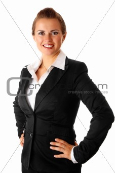 successful modern business woman