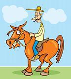 Funny horseman