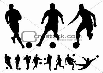 Football vectors