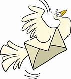 Mail pigeon