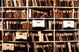 Files on Shelf
