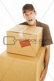 Delivery Man - Frustration