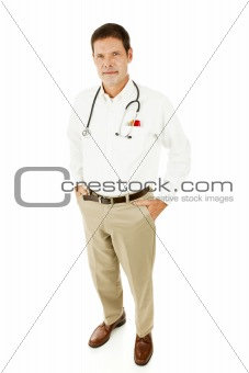 Handsome Casual Doctor