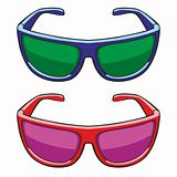 illustration of sun glasses